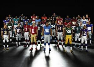 NFL uniformes
