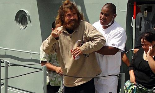 Mexican castaway Jose Salvador Alvarenga, who said he was adrift for 13 months